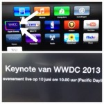 WWDC keynote te bekijken via Apple TV