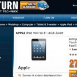 iPad Mini in de aanbieding