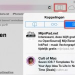 iOS7 - Safari; Twitterlinks in beeld