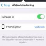 Keynote - gebruik je iPhone als afstandsbediening