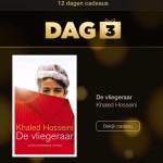 12 Dagen Cadeaus; ebook De Vliegeraar van Khaled Hosseini gratis