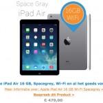 iPad Air 16gb in aanbieding bij iBood!