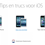 Eigen Tips app (iOS8) van Apple + Tips en Trucs website!