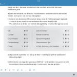 Keyboard Sneltoetsen voor je iPad