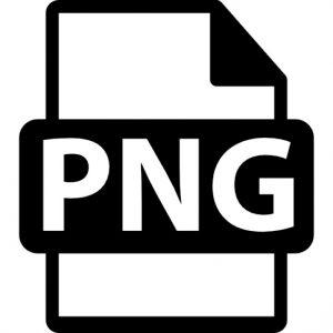 PNG afbeelding op een iPad