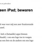 PDF bewaren van een webpagina
